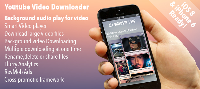 Youtube Video Downloader iOS