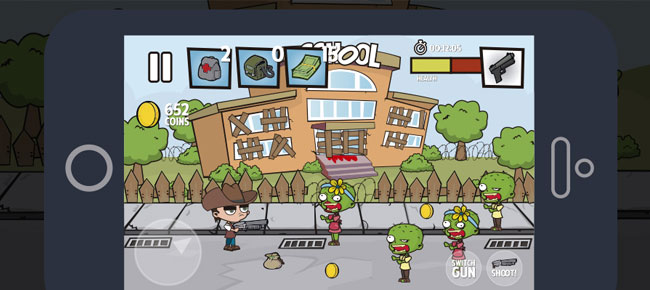 Zombies Attack Game Assets Set -