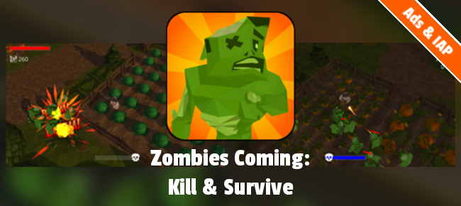 Top down shooter Zombies Coming: Kill & Survive